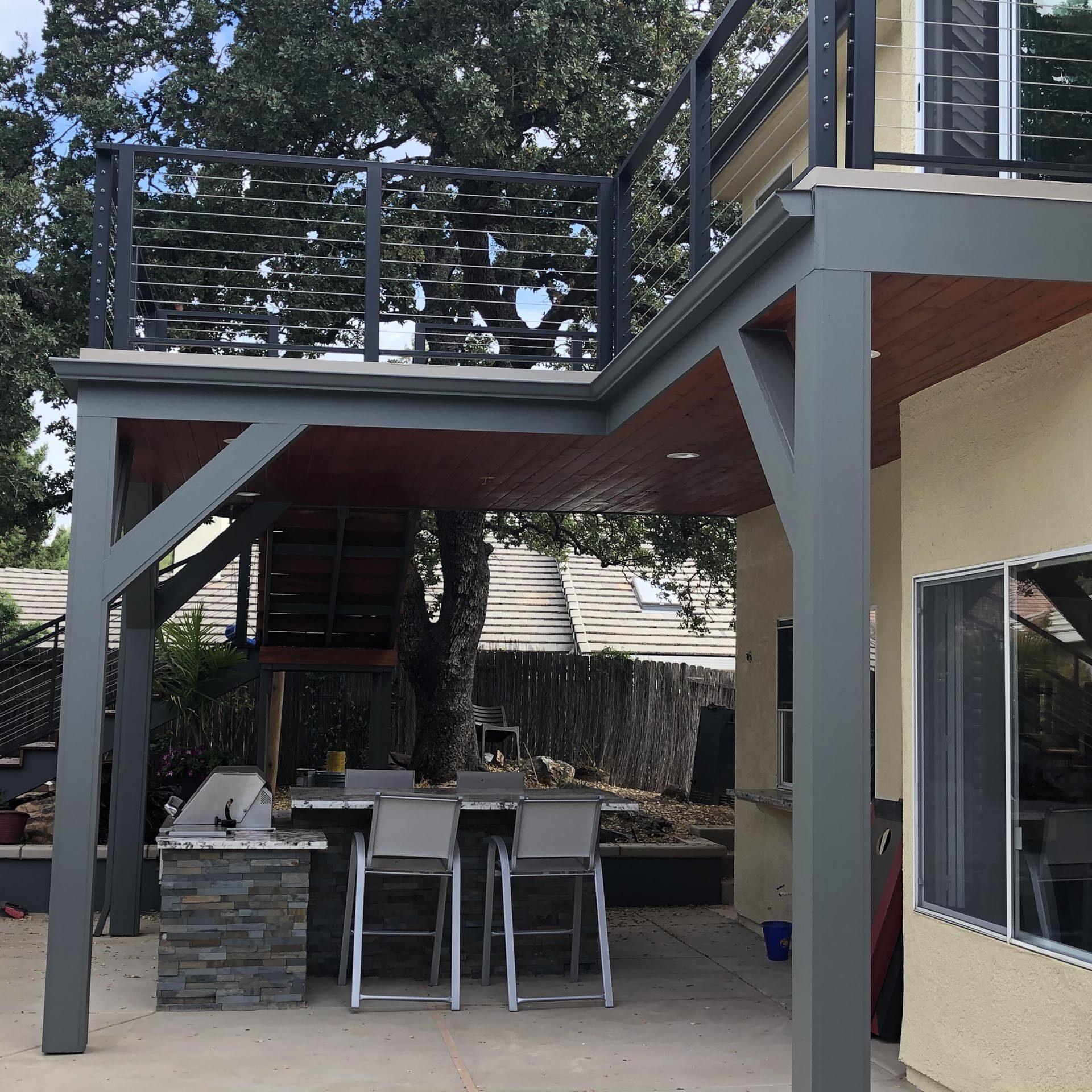 Petaluma, CA Deck and Railing